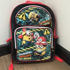 Kids minions backpack